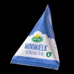 Mælkebrikker i Displaybox
